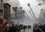New York City building collapses, burns, injuring 12 people -authorities