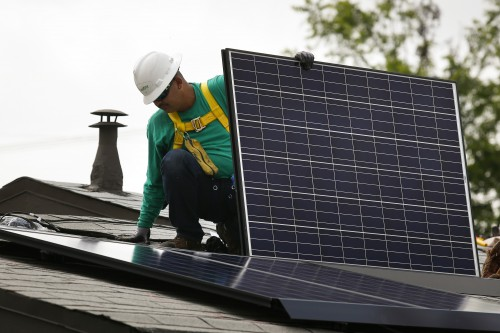 Ekurhuleni hopes to procure 10% of its energy needs from green energy providers by next year. Image: Patrick T Fallon/Bloomberg