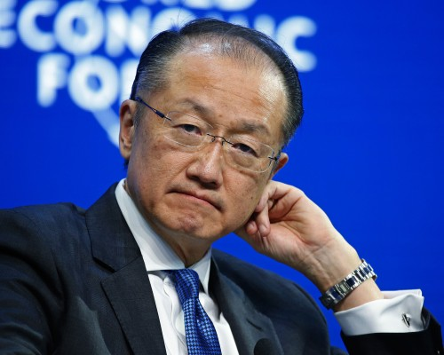 Jim Yong Kim, president of the World Bank Group. Picture: Bloomberg