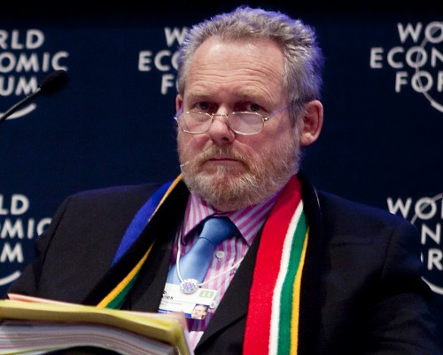'We are collateral damage in a war you are fighting with someone else, in a war not of our making,' Rob Davies, Minister of Trade and Industry has said to the US. Picture: Andrew Harrer/Bloomberg