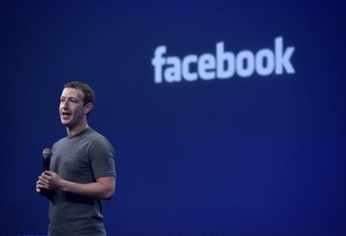 Mark Zuckerberg, chief executive officer of Facebook. Image: Bloomberg