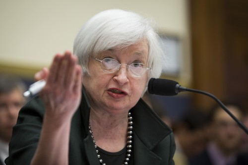 Fed chair Janet Yellen is one of the panelists at a central bankers conferencein Frankfurt. Picture:Bloomberg