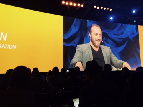 Chad Hurley, YouTube co-founder and creator, speaking on the 'YouTube Generation' at the Global Sage Summit