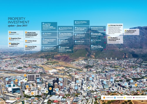 Western Cape investment map - June 2015