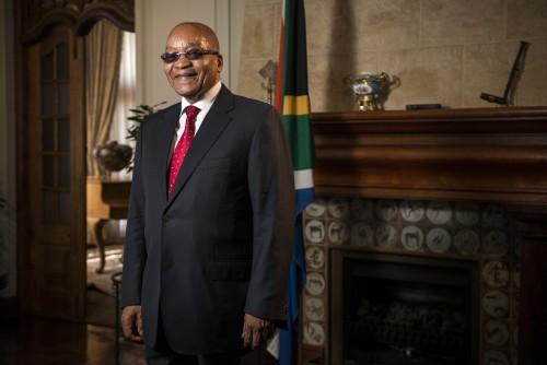 Jacob Zuma, South Africa's president