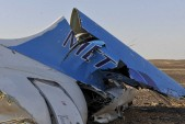 Bomb suspected in Egyptian plane downing