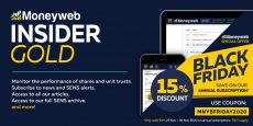 Moneyweb Insider Gold subscription