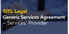 Generic Services Agreement – Services' Provider