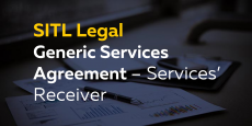 Generic Services Agreement – Services' Receiver