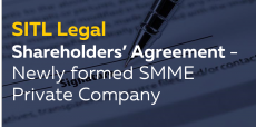 Shareholders' Agreement – Newly formed SMME Private Company
