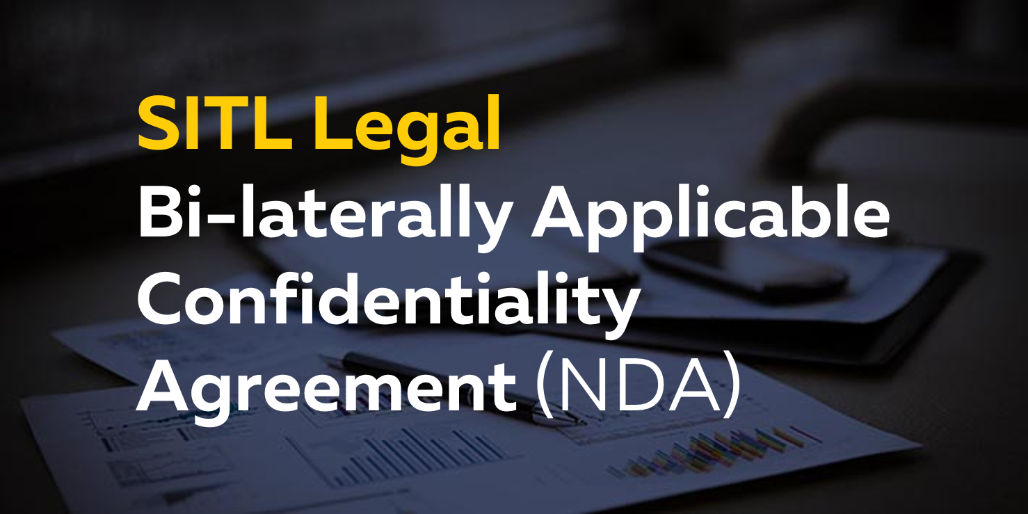 Bi Laterally Applicable Confidentiality Agreement Nda Moneyweb