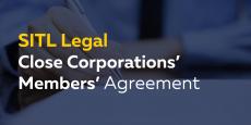 Close Corporations' Members' Agreement