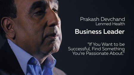 Business Leadership: To be successful, find something you're passionate about