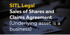 Sales of Shares and Claims Agreement (Underlying asset is a Business)