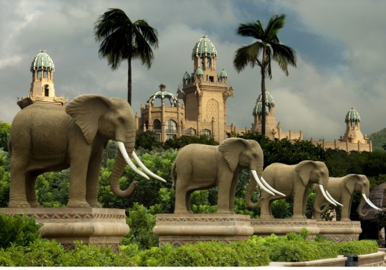 Sun City and the Palace at the Lost City, Sun International's biggest casino resort is close. Image: Supplied