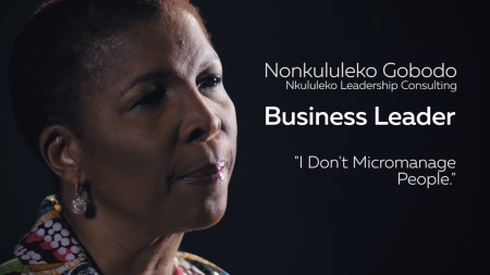 Business Leadership: I don't micromanage people