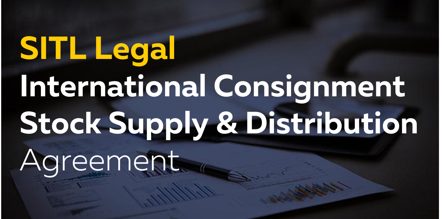 International Consignment Stock Supply Distribution Agreement