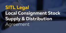 Local Consignment Stock Supply & Distribution Agreement