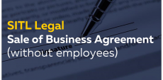 Sale of a Business Agreement (without employees)