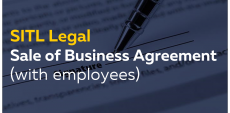 Sale of a Business Agreement (with employees)