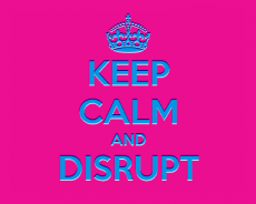 What is a market disruptor?