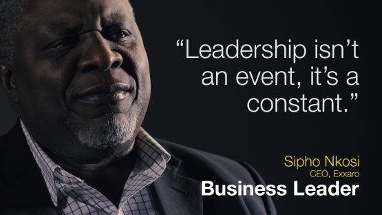 Business Leadership: Leadership is not an event, it's a constant