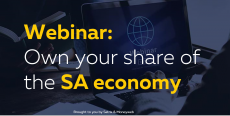 WEBINAR: Own your share of the SA economy
