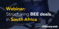 WEBINAR: Structuring BEE deals in South Africa recording