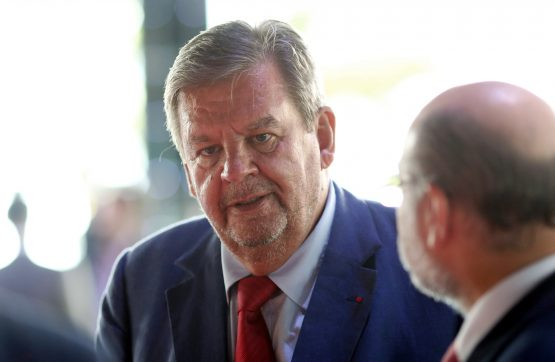 Keeping it in the family … Johann Rupert is founder and co-owner of Business Partners. Image: Chris Ratcliffe, Bloomberg