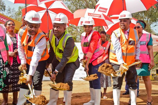 The GIDZ sod turning ceremony