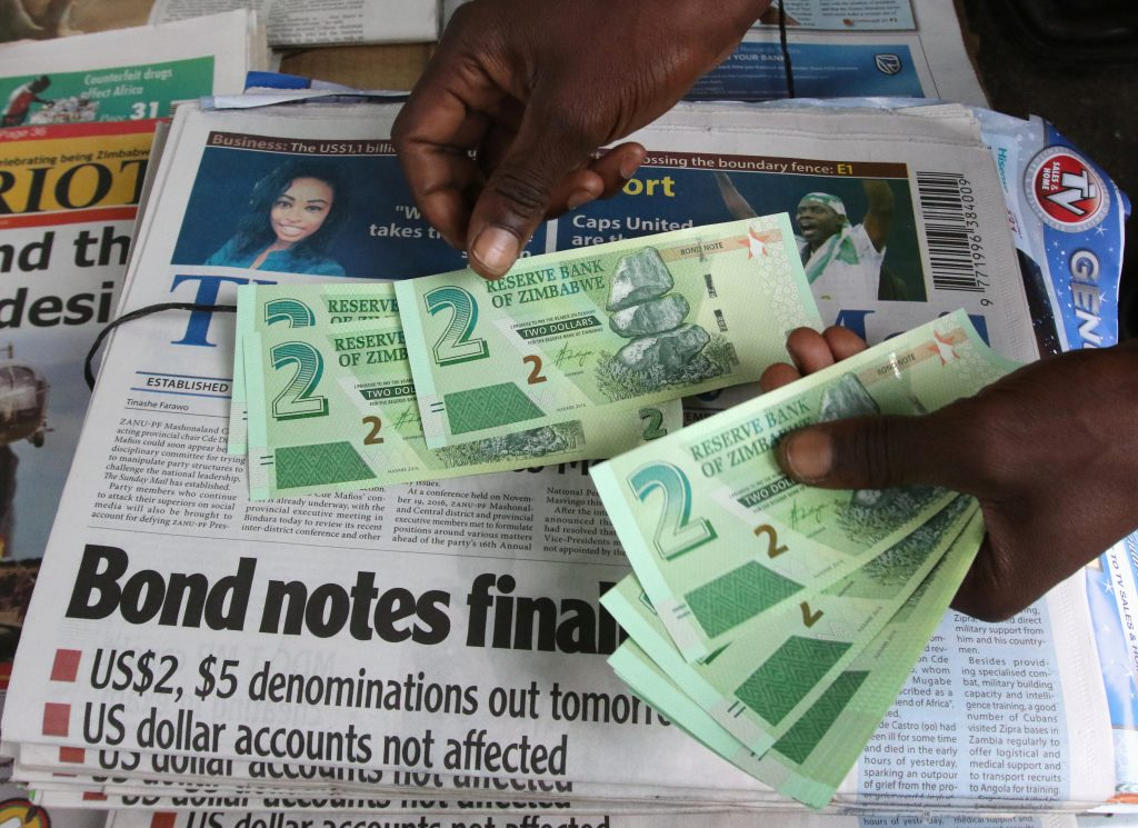 Zimbabwe Starts Trading New Currency In Bid To End Dollar Dearth