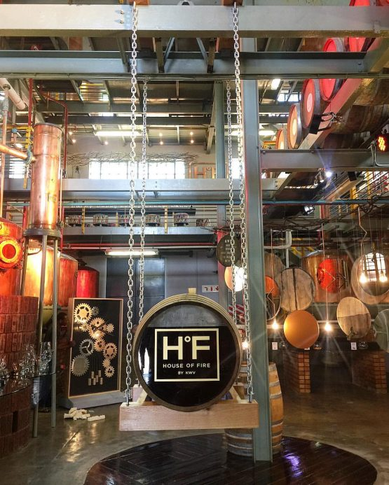 KWV's new state of the art tasting venue, House of Fire