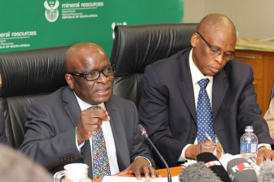 South African Department of Mineral Resources Minister Ngoako Ramatlhodi