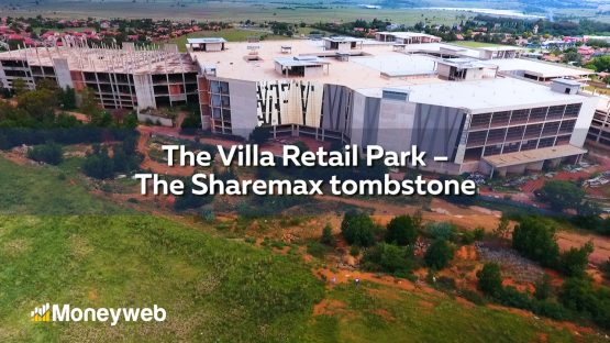Villa Retail Park has been revalued at R616 million from R1.6 billion Picture: Moneyweb