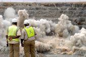 Anglo American Platinum-aanleg ontplof