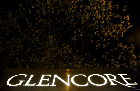Glencore's shares have declined about 8% since the DOJ probe began last year. Picture: Bloomberg