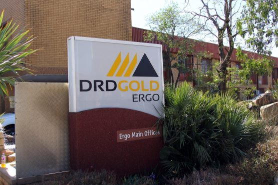 Security guards at DRDGOLD's Ergo plant in Brakpan were caught in a crossfire with robbers, who stole 'a quantity' of calcine concentrate containing an estimated 17kg of gold, the company says. Image: Moneyweb