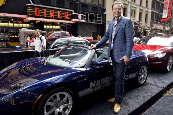 What was tesla ipo