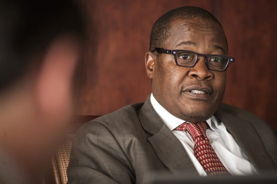 Brian Molefe bruised after court ruling. Picture: Bloomberg