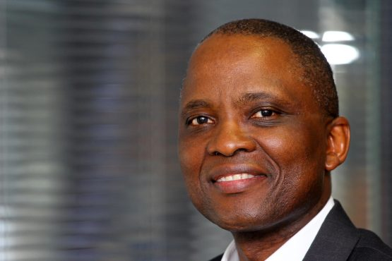 Exxaro CEO Mxolisi Mgojo says the company's operating profit is up 17% to R6.060 billion. Picture: Moneyweb
