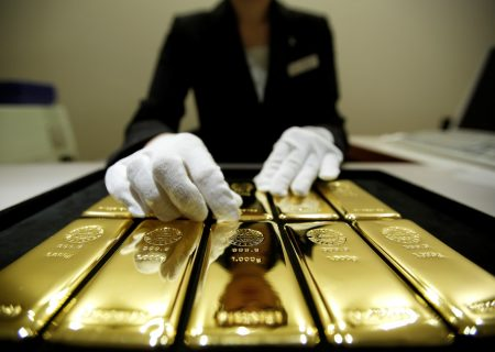 Gold at highest since May 1 on political uncertainty, dollar