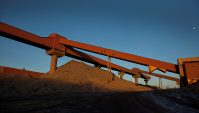 32 tons a second shows China's record iron appetite