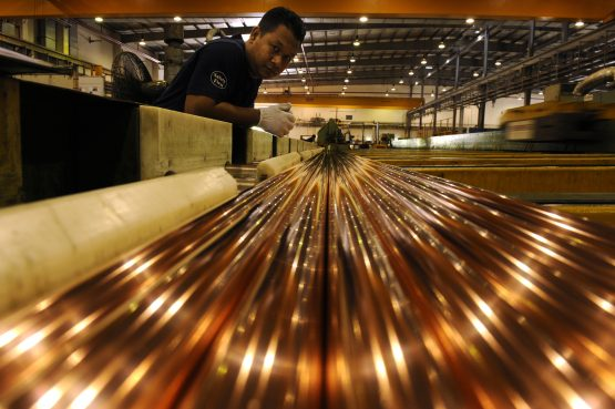 JPMorgan expects copper to average $7 405 a metric ton this year. Picture: Bloomberg