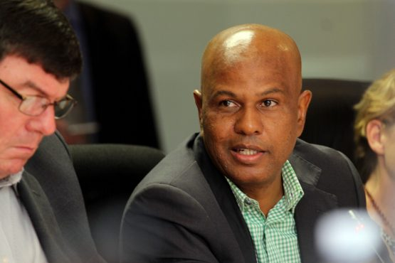 Amcu President Joseph Mathunjwa refers ongoing platinum wage negotiations with Anglo American Platinum and Sibanye-Stillwater to the CCMA. Image: Moneyweb