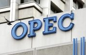Opec oil output falls from record high ahead of planned cuts