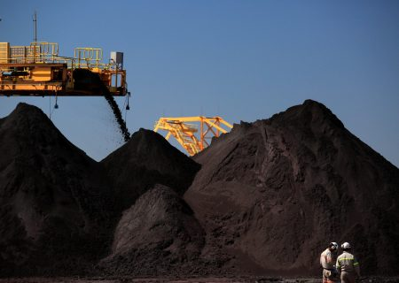 Iron ore at risk of further losses as price tumbles to July low