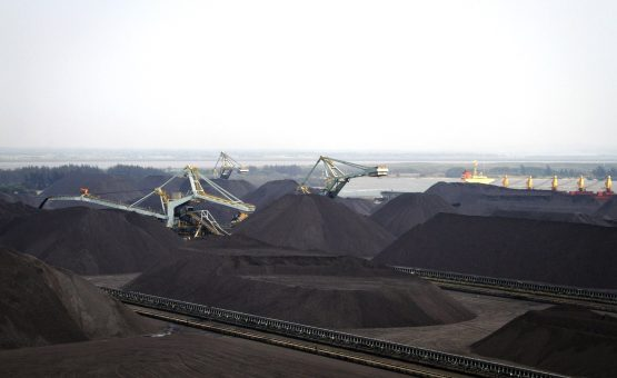 Richards Bay Coal Terminal, Africa's largest coal-export facility. Photo source: Bloomberg