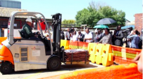 [VIDEO] SA's first hydrogen fuel cell forklift and refuelling station at work