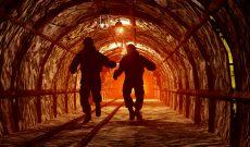 Miners shine, industrials and financials under pressure