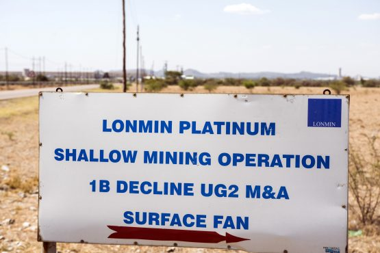 The cuts are part of Lonmin's plan to trim its staff and lower costs at its deep-level mines. Picture: Bloomberg